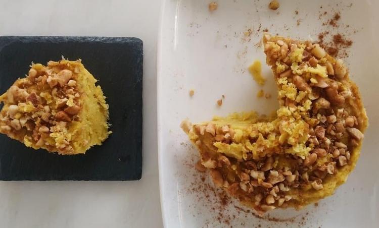 [150kcal 저지방] 달달한거 땡길땐 초간단 다이어트 고구마빵