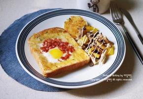 달걀토스트와 즐기는 브런치