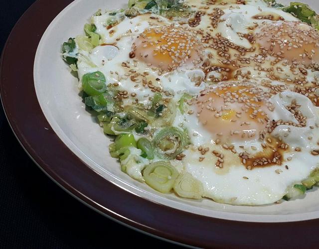 들기름대파달걀프라이
