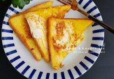 달걀 연유 토스트 - 아이 간식 토스트 만들기