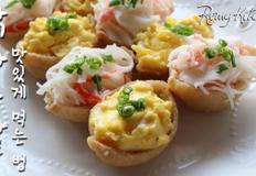 """초간단 다이어트 요리, """"닭가슴살유부초밥""""만들기 / 닭가슴살 맛있게 먹는 법♥"""