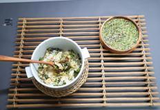방풍나물밥, 비빔밥 간장 양념장. 자연의 향긋함 가득 건강밥상. 간단한 저녁메뉴