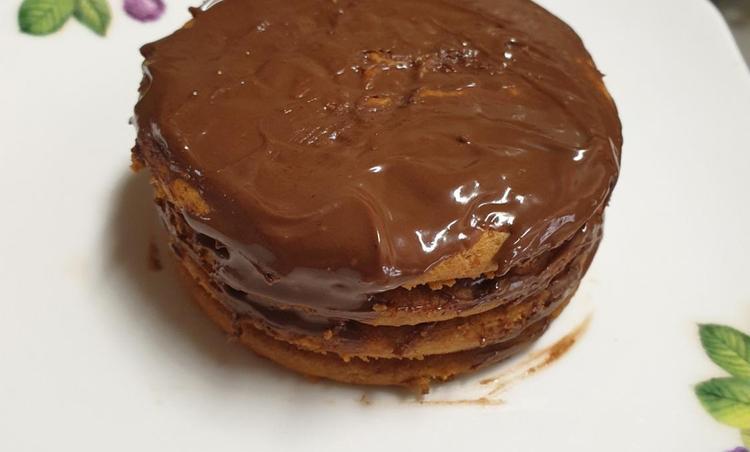 다이제 초코 케이크~
