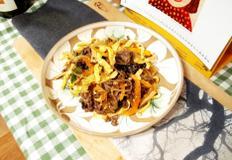 #달걀요리 #맛있는녀석들달걀잡채 #달걀잡채만들기 #이원일셰프가 만든 달걀잡채에 당면까지 넣어서 푸짐하게 만든 달걀잡