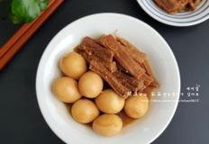 소고기 메추리알 장조림 - 밑반찬 소고기장조림 만들기