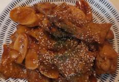 광파오븐 활용 닭봉떡국떡 떡볶기