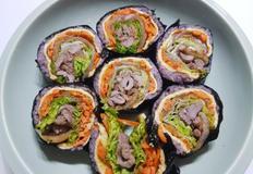 오리주물럭김밥