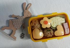 간편 소풍 도시락 스팸 주먹밥~*