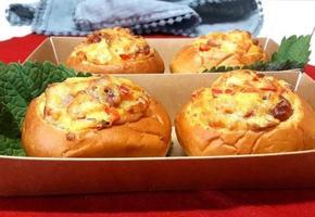 에어프라이어 간단 빵빵한 빵 도시락 모닝빵 요리