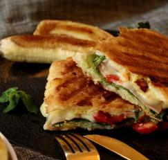 치아바타 파니니 샌드위치 만들기 브런치메뉴