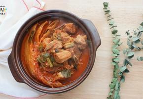 푹~끓인 돼지갈비 김치찜으로 집 나간 입맛 찾기