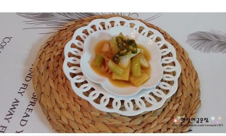 아삭 아삭한 양파 장아찌 만드는 법