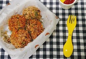 소풍도시락으로 강추 밥 크로켓 만들기