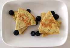 [200kcal 5분요리] 바나나+계란 팬케익 (NO밀가루)