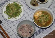 초록콩나물로 만드는 콩나물김치국&콩나물무침