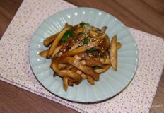 밑반찬 _ 쫄깃하니 맛있는 새송이버섯 간장조림