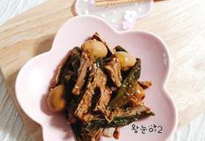 [인기반찬] 돼지고기안심장조림~