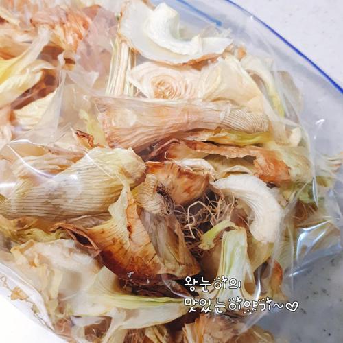 [기본육수만들기] 햇양파껍질 이용한 국물다시팩
