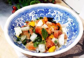 #살사소스 #토마토요리 #살사소스만들기 #빵이나 타코에 올려서 먹으면 와인안주!!! 토마테위에 올려서 먹으면 판콘토