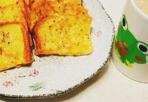 간단한 간식 계란 토스트