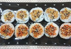 백종원 이색김밥! 간장어묵김밥+불어묵김밥