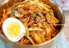 맛깔난 골뱅이 야채 비빔국수, 백종원 비빔장