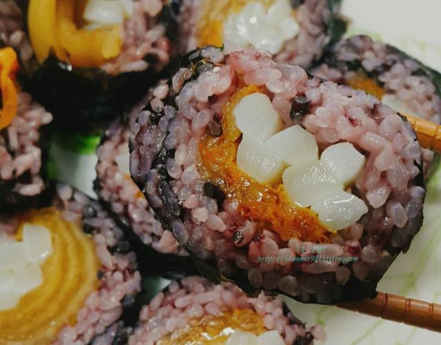 묵은지김밥