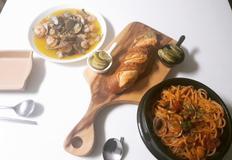 박나래 감바스 응용한 요리, 해산물감바스