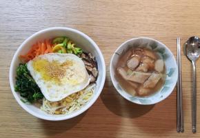 야채비빔밥