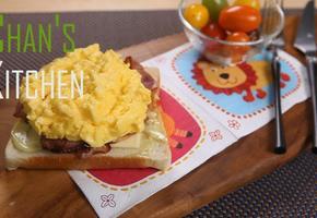 [식빵] 에그마니 샌드위치 - 든든한 아침식사, 아이들 간식