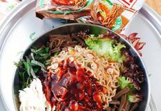 도토리쫄쫄면 농심 신제품-건강과 맛을 다챙길수있는 비빔면