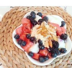 우유 과일 팥빙수 만드는 법 빙수기 필요 없이 만들기
