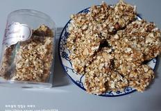 다이어트간식 영양간식으로좋은 견과류 오트밀강정 레시피