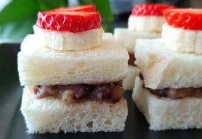 핑거푸드 과일 샌드위치 초간단 식빵 요리