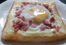 식빵과 계란하나! 전자렌지로 조리하는 마약토스트!! 맛이 미쳤어요!!♡