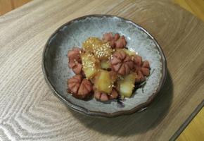 햄 감자조림~*