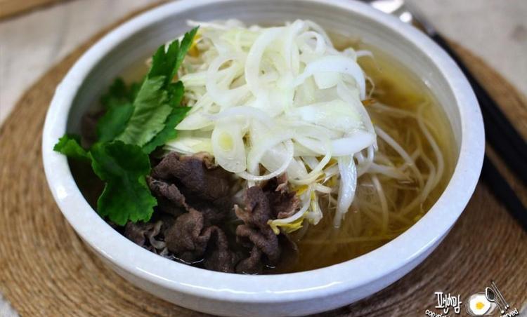 쌀국수 만드는법! 소고기쌀국수 양파초절임~