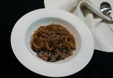 간단 한그릇밥 어묵 당면덮밥