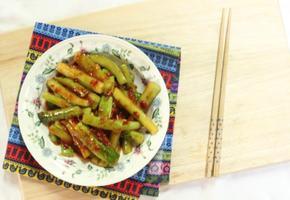 중국식오이피클무침 중국요리