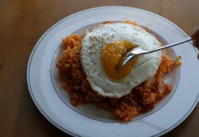 (요리 레시피) 김치볶음밥 맛있게 만드는 법 만들기 백종원 황금 레시피 kimchi fried rice