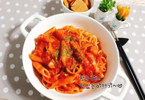 한그릇음식~진짜 토마토가 들어간 스파게티!