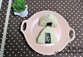 새싹보리참치삼각김밥