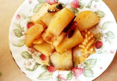 #감자조림 #곤약조림 #감자곤약해물조림만들기 #게장간장을 이용한 매콤하면서도 짭쪼름한 감자곤약조림