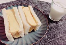 타마고산도:달걀샌드위치 전자렌지로 뚝딱