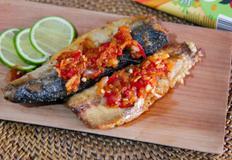 [가정간편식/간편식상품화] 인도네시아 삼발소스를 곁들인 매운 고등어구이