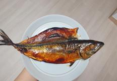 [간편가정식]껍질 바사삭 고등어 구이