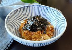 대충 비벼도 맛있는 대충 김치 비빔국수