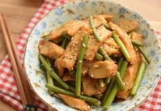 밑반찬 마늘종 어묵볶음(오뎅볶음)