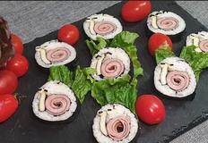 아이과함께 만드는 달팽이김밥