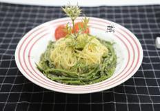 두릅 파스타. 향긋 쌉싸름한 두릅으로 스파게티 만들어 먹기! 5월 제철음식.